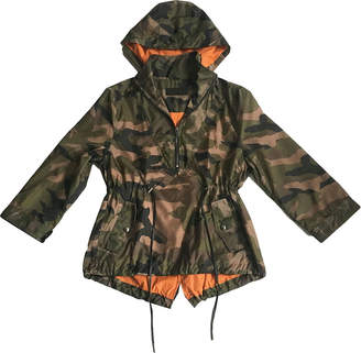 Blank NYC Girls' No-Win Situation Camo Wind-Resistant Jacket