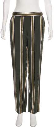 Theory Stripe Mid-Rise Pants