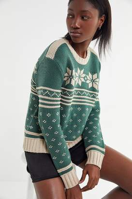 Urban Outfitters Winter Fair Isle Sweater