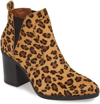 Mia Trinaa Genuine Calf Hair Chelsea Boot