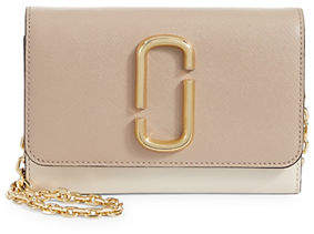 Marc Jacobs Flap Leather Chain Wallet