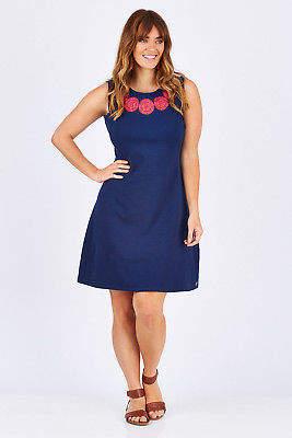 Hatley NEW Womens Short Dresses Sarah Dress SolsticeEm - Dresses