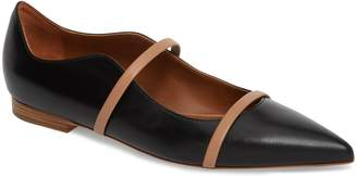 Malone Souliers Pointy Toe Flat