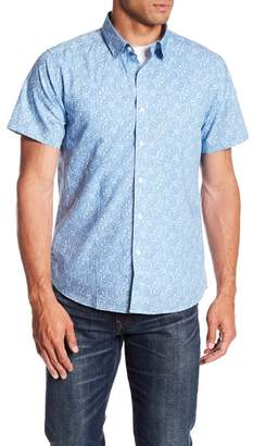 TWENTYMETRICTONS Ditsy Floral Short Sleeve Tailored Fit Shirt