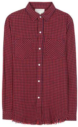 Current/Elliott The Two Pocket Prep School cotton knitted shirt