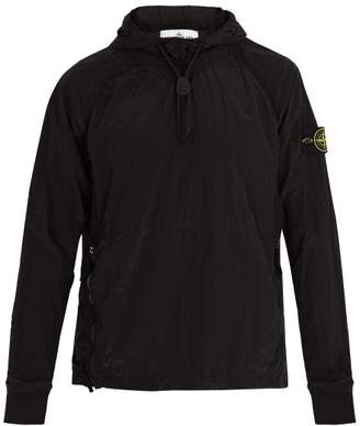 Stone Island Lightweight Hooded Jacket - Mens - Black