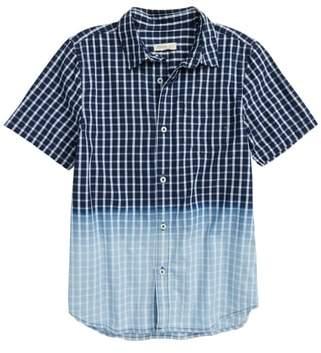 Tucker + Tate Dip Dye Check Shirt