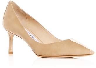 Jimmy Choo Women's Romy 60 Pointed-Toe Pumps