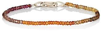Suzanne Felsen Men's Aquamarine Beaded Bracelet