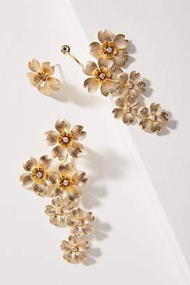 Anthropologie Petal Burst Drop Earrings