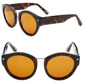 Elizabeth and James 51MM Round Sunglasses