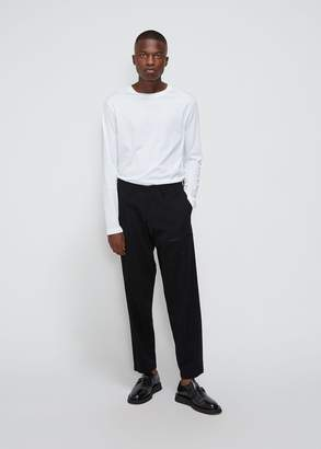 Yohji Yamamoto Stretch Twill Zip Pocket Pants
