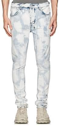 Ksubi Men's Van Winkle Bleached Skinny Jeans