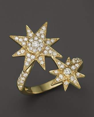 Bloomingdale's Diamond Starburst Statement Ring in 14K Yellow Gold, .65 ct. t.w. - 100% Exclusive