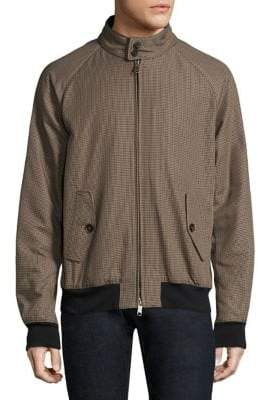 Baracuta Men's G9 Raglan Winter Jacket - Pied De Po - Size 42 (32)