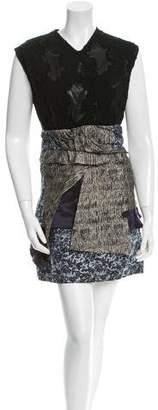 Michael Van Der Ham Sleeveless Woven Dress w/ Tags