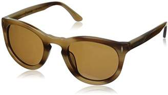Hang Ten Gold Classic Key Hole HRG1018 C3 Polarized Round Sunglasses