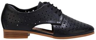 Hush Puppies Fiji Black Flat Shoe