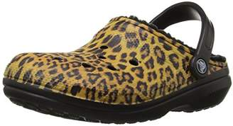 Crocs Unisex's Classic Lined Graphic Clog Mule