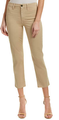 Joe's Jeans Jane Khaki High-Rise Straight Crop