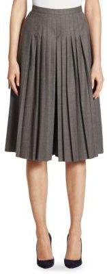 Ralph Lauren Collection Whitney Wool Culotte $1,550 thestylecure.com