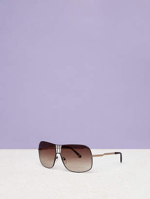 1b89395b894ae at DVF.com · Diane von Furstenberg Lisa D-Frame Sunglasses