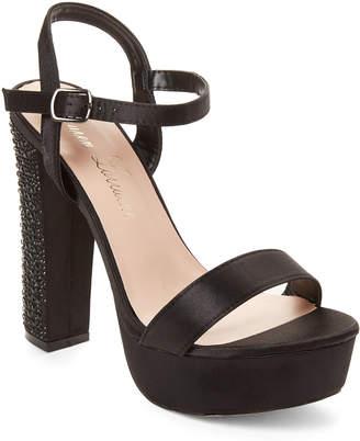Lauren Lorraine Black Carly Platform Sandals