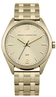French Connection Women's Quartz Metal and Stainless Steel Casual Watch