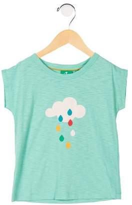 Little Green Radicals Girls' Breezy Tee Top w/ Tags