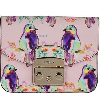 Furla Mini Bird Print Shoulder Bag