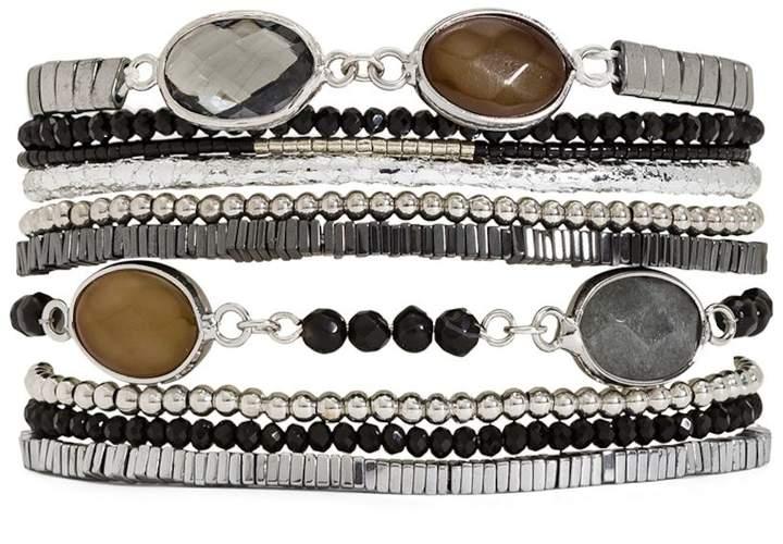Arpege - Typ Armband Manschette - schwarz