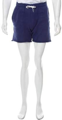 MAISON KITSUNÉ Woven Flat Front Shorts