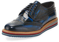 Men's Leather Casual Dress Shoes w/ Lightweight Sole