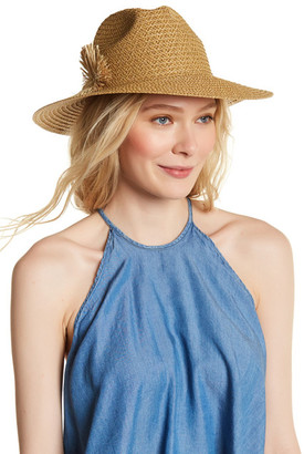 August Hat Flower Fields Large Fedora $32 thestylecure.com