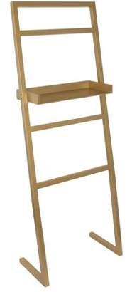 Laurèl Kate and McGrath Decorative Ladder with Display Shelf Gold