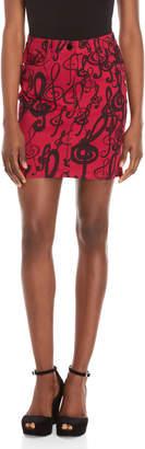 Love Moschino Printed Mini Skirt
