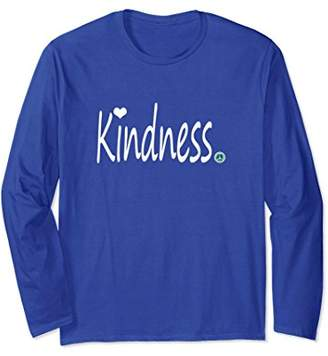 Inspirational Journey Tshirts Long Sleeve Kindness. heart