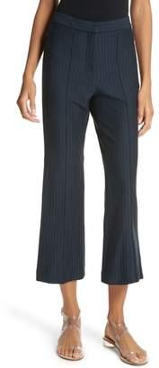 Tibi Jane High Waist Crop Pants