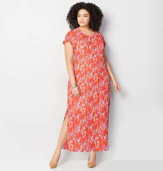 Avenue Floral Woven Maxi Dress