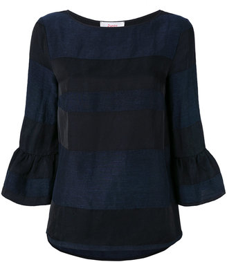 Jucca cropped-sleeve blouse $192.95 thestylecure.com