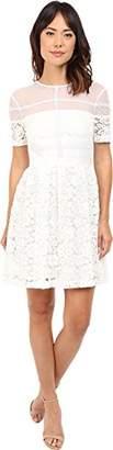 Donna Morgan Women's Short Sleeve Lace Dress $97.99 thestylecure.com