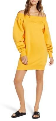 Ivy Park R) Blouson Bardot Sweatshirt Dress
