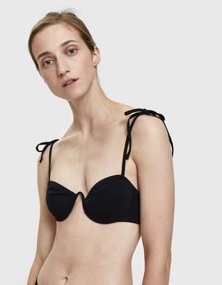 Araks Myriam Bikini Top in Black