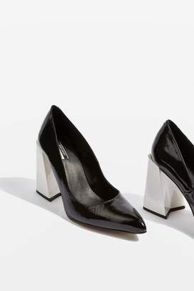 Topshop Gospel Statement Pointed Heel Shoes