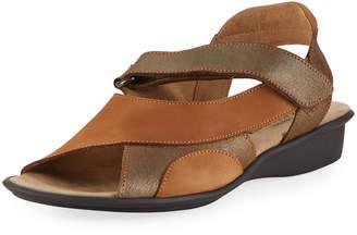 Sesto Meucci Edrea Comfort Strappy Sandal, Brown