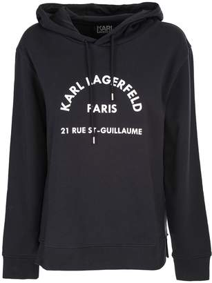 Karl Lagerfeld Paris hooded sweatshirt