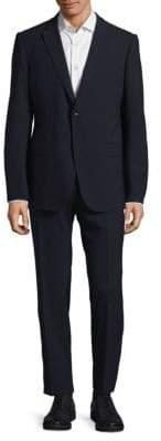 Armani Collezioni Notch Buttoned Suit