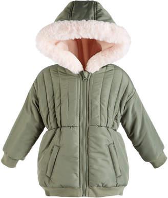 First Impressions Baby Girls Fur Trim Parka