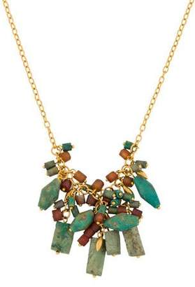 Gurhan Turquoise & Chalcedony Phoenician Necklace