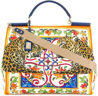 Dolce & Gabbana large Sicily tote